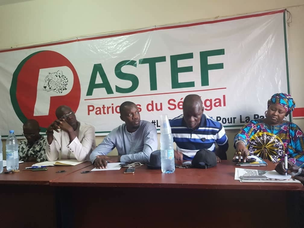Conférence De Presse de PASTEF D'OUSMANE SONKO : Affaire 94 milliards