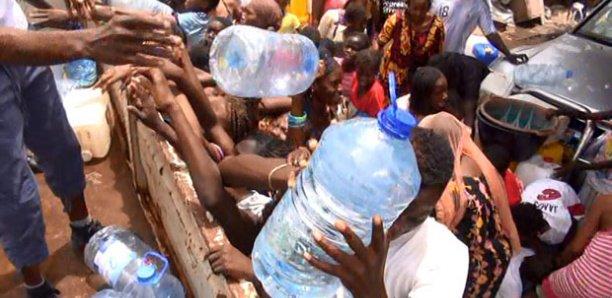 Pénurie d'eau : Dakar crie sa soif!