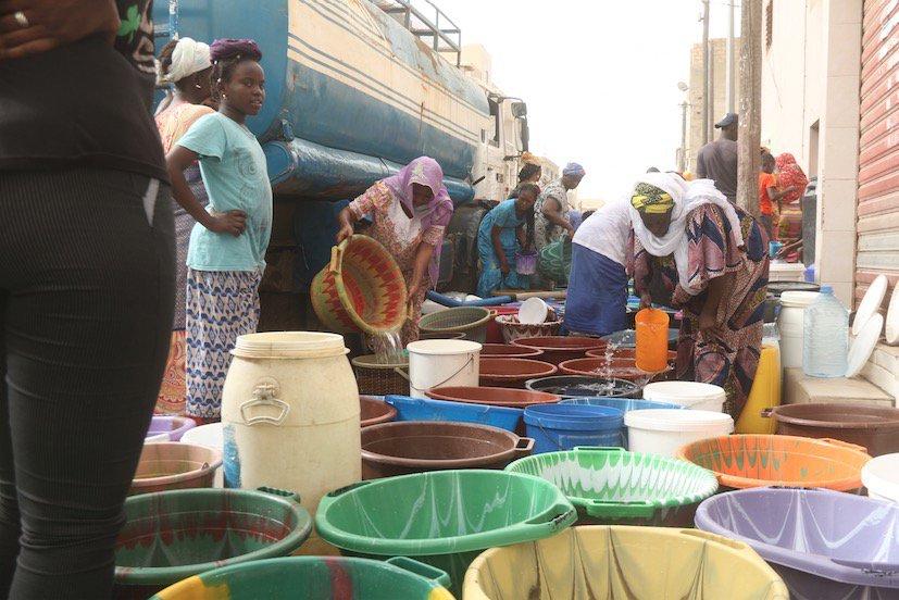 Dakar, capitale frappée par une inquiétante pénurie d'eau