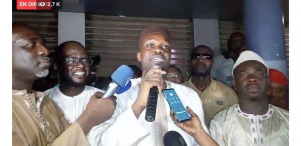 Suivez la déclaration d'Ousmane Sonko [Direct]