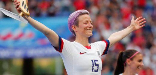 Sportive de l'année : La star du football lesbienne nommée