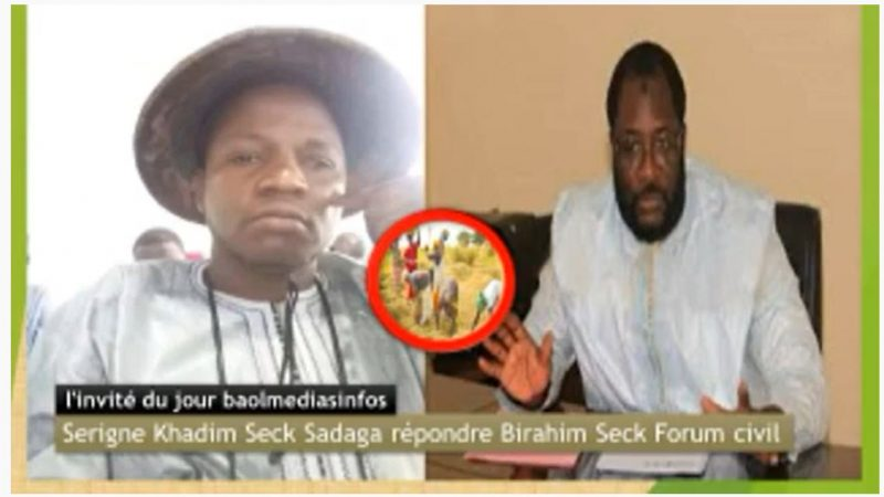 Affaire agricoles »Serigne Khadim Seck Sadaga répond Birahim Seck Forum civil
