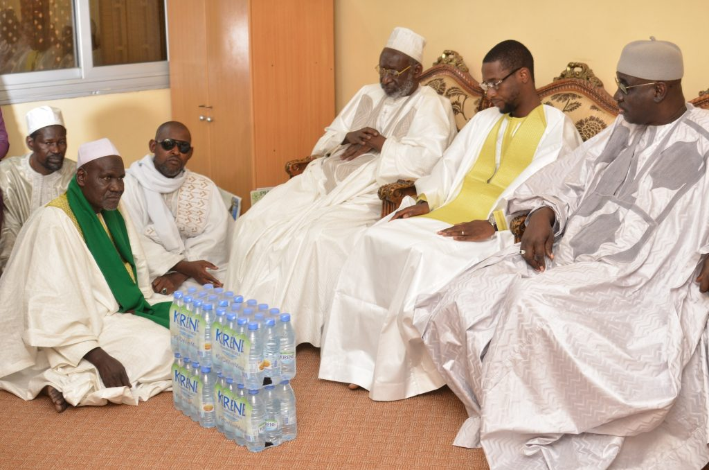 Ziarra annuelle de la famille Omarienne : GFM chez le Khalife Thierno Madani Tall