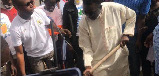 «Cleaning Day»: Amadou Ba nettoie auprès des Parcellois…