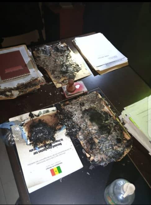 TAMBACOUNDA: LE BUREAU DU MAIRE DE KOTHIARY INCENDIÉ