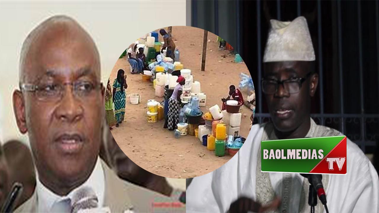 Pénurie d'eau à Touba: imam Serigne cheikh Sall président de l'Association des imams et arabisants de Touba réclame le départ du Ministre Serigne Mbaye THIAM