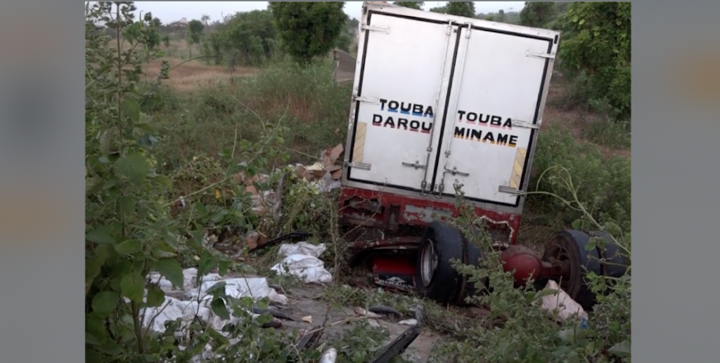 Kébémer: Mort tragique de 2 candidates au Bac, tuées par un camion