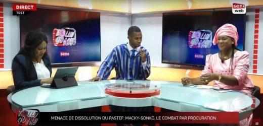 Menace de dissolution du Pastef: Macky-Sonko, le combat par procuration dans Tolluwaay