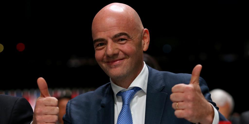 Le CIO rejette une plainte déposée contre la FIFA et son président, Gianni Infantino