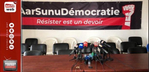 Affaire Sonko : Suivez la conf. de presse de Aar Suñu Démocratie