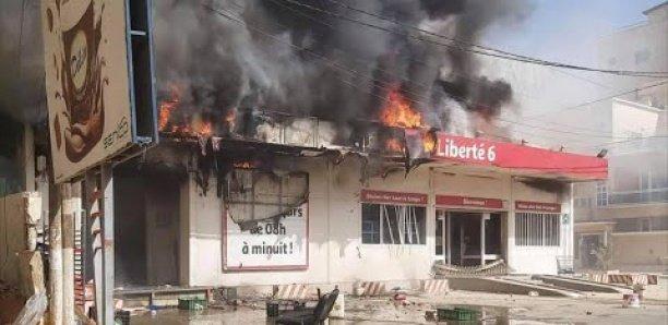 Incendie à Auchan Liberté 6 extension