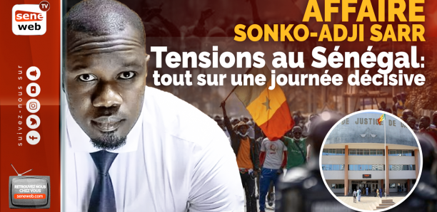 Tribunal de Dakar : Sonko face au juge Samba Sall