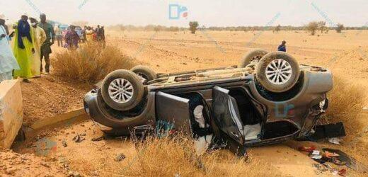 Ablaye mbaye pékh et serigne Modou bara dolly victime d'un accident