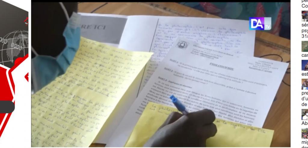 Bac-2021 : Les 15 élèves pris en flagrant délit de triche, relaxés