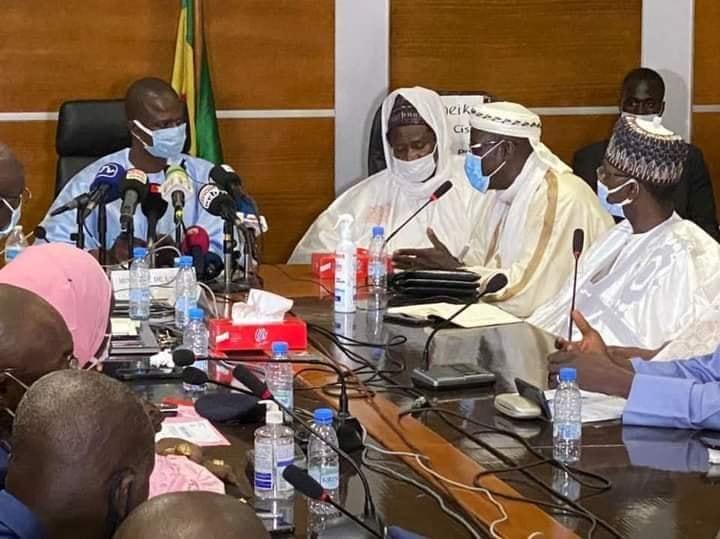réunion nationale préparatoire du Gamou de Medina Baye Niass édition 2021